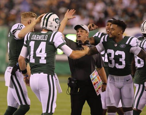 Atlanta Falcons Vs New York Jets Nfl Pre Season