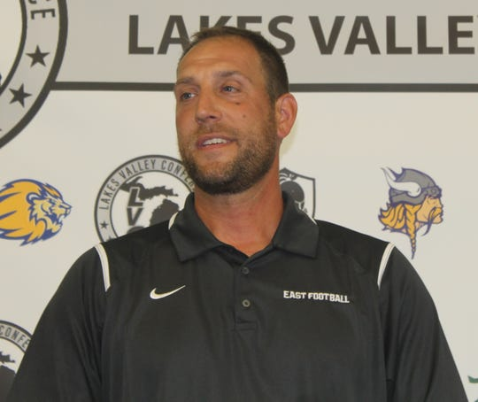 Joe Pesci is beginning his fourth season as South Lyon East's football head coach.