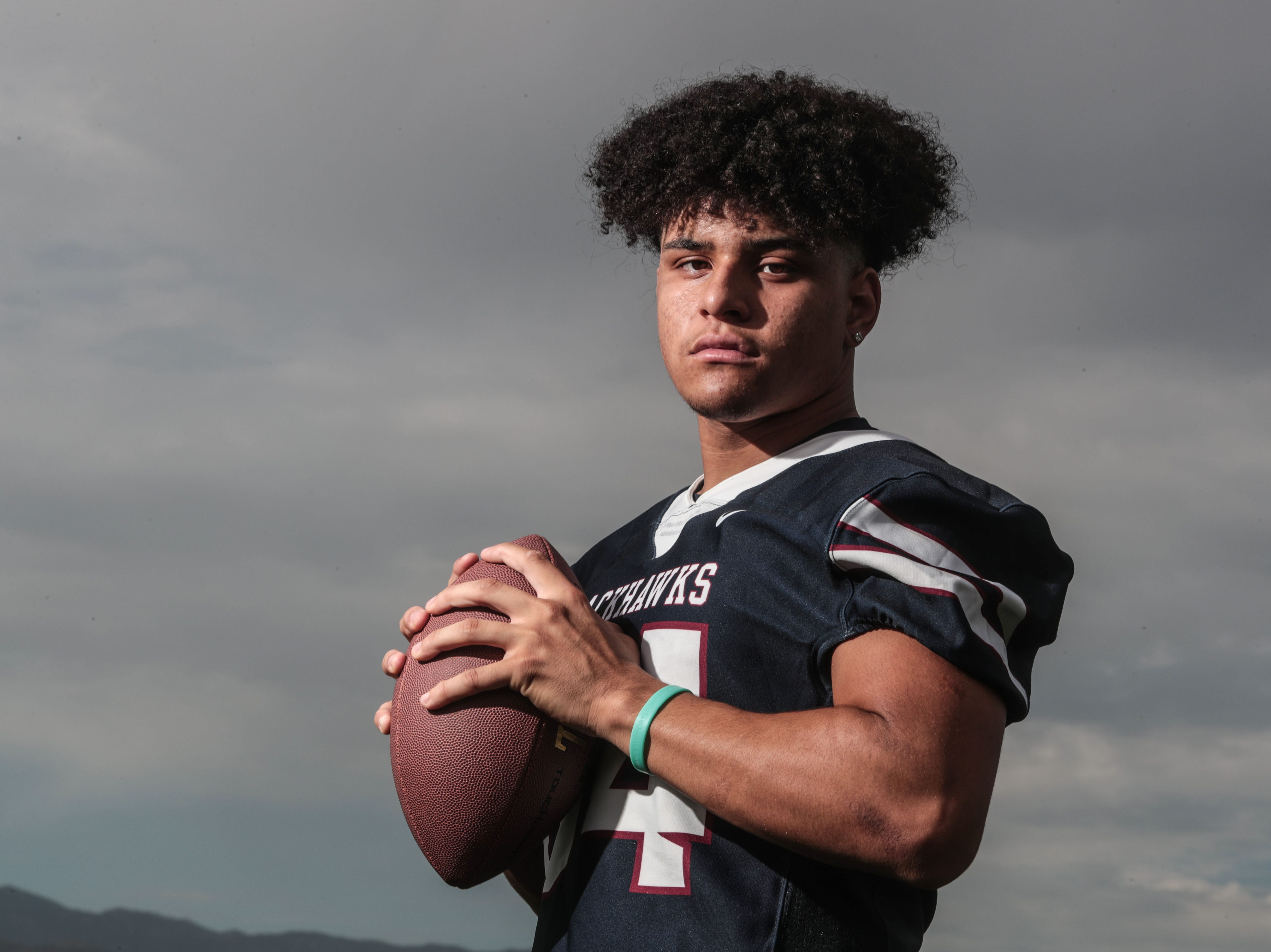 La Quinta's Fred Massie on Tuesday, July 31, 2018 in La Quinta. He is No. 6 on  The Desert Sun's 2018 Elite 11 list.