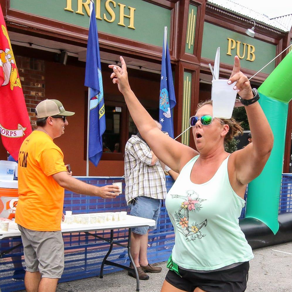 PHOTOS: O'Riley's 26.2 (feet) race short on length, long on fun