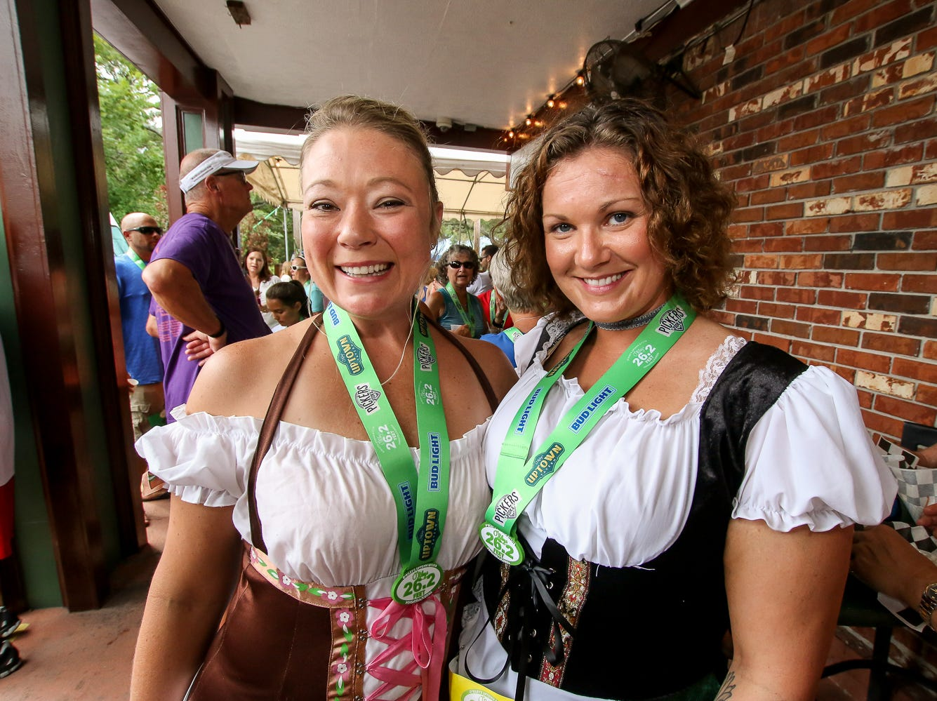 While many people would consider running 26.2 miles a marathon and not a sprint, the O'Riley's 26.2 (feet) is just the opposite. On Saturday, Aug. 11, 2018, O'Riley's Uptown Tavern and Run Pensacola played host to those who wanted to run a shorter, more jocular race that featured playing flip cup at the starting line, along with having some of the regular race amenities like race shirts, a water station at about the halfway point – a full 13 feet from the starting line – medals for the finishers, on-course photographers, and the customary post-race fruit and beer.