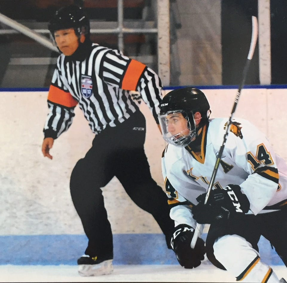 Fort Gratiot resident Steve Kamidoi named Michigan hockey Referee of the Year