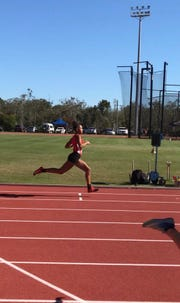 Brianna Stevenson competed in the Down Under Sports Tournament in Australia as one of 300 American high school athlete.