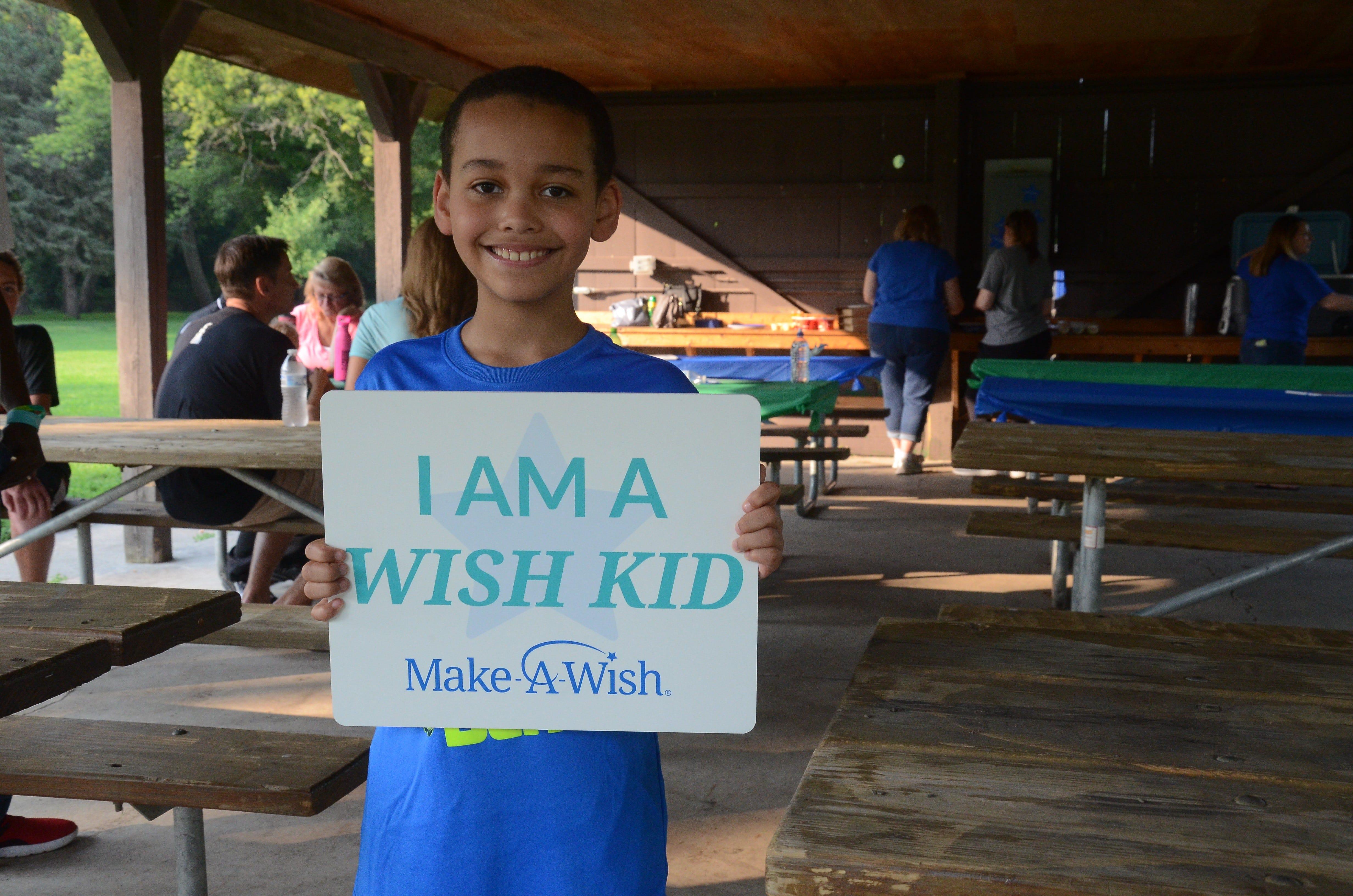 Make-A-Wish gives Jordan Ramazani, 8, a dream shopping trip | Argus Leader