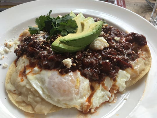 The Kitchen, not far from Denver's Union Station, had the best huevos rancheros we've ever tried.