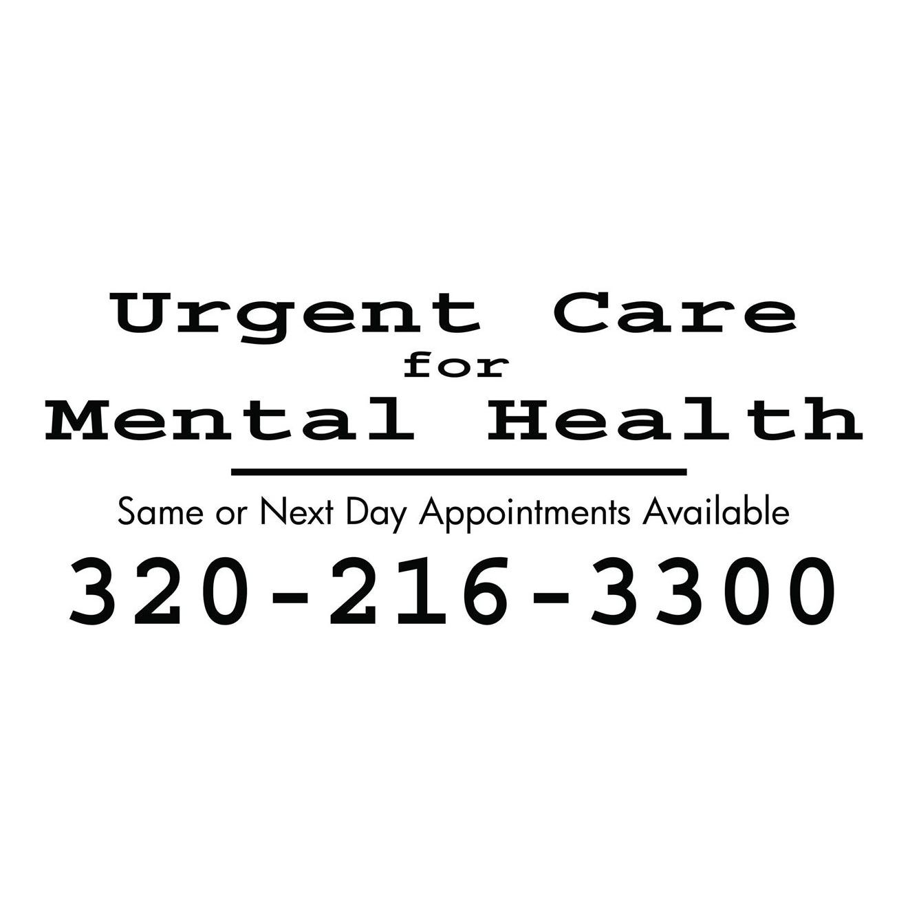 Waiting weeks for a mental health appointment? You don't have to with urgent care program
