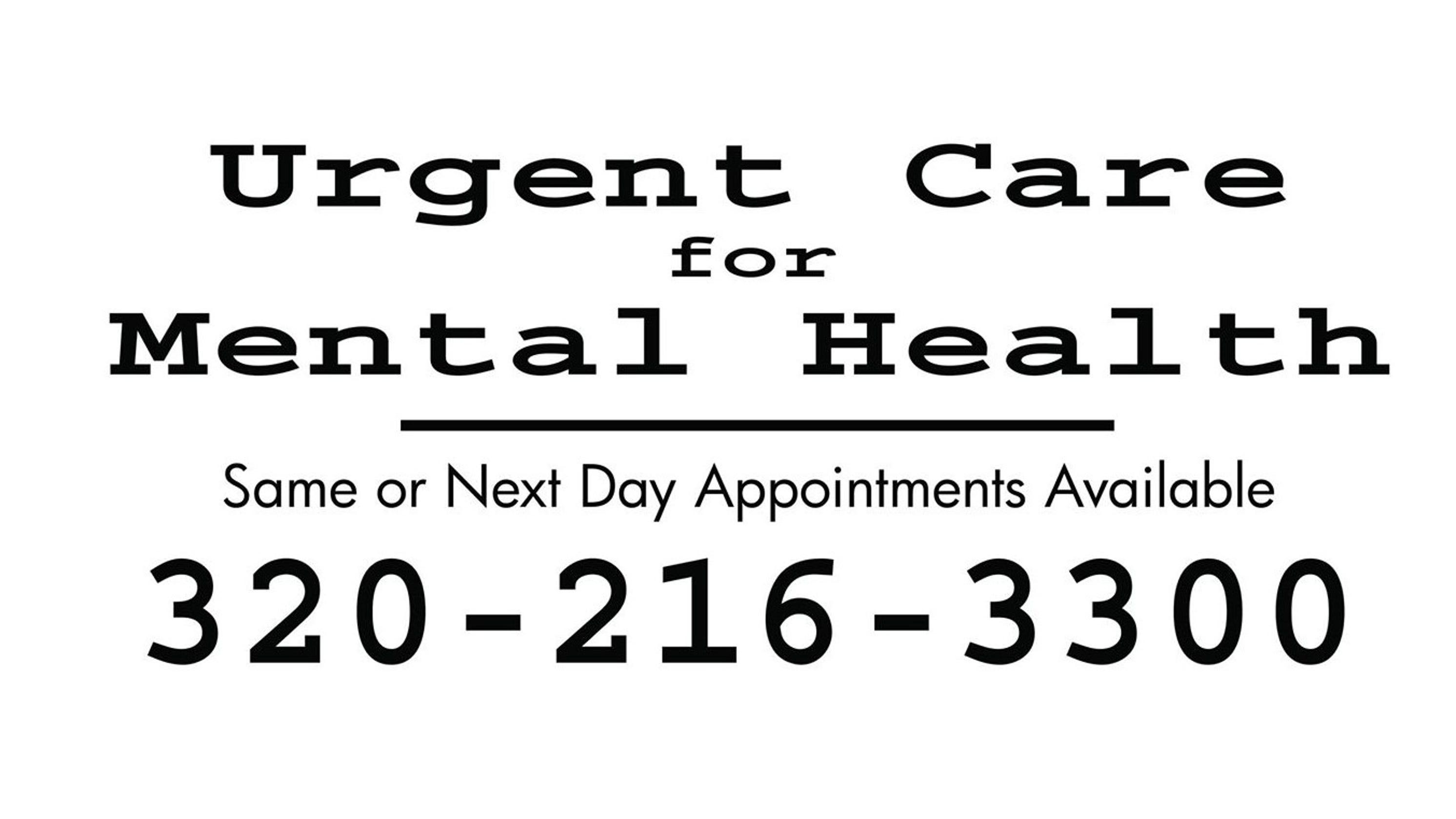 St. Cloud non-profit provides mental health urgent care