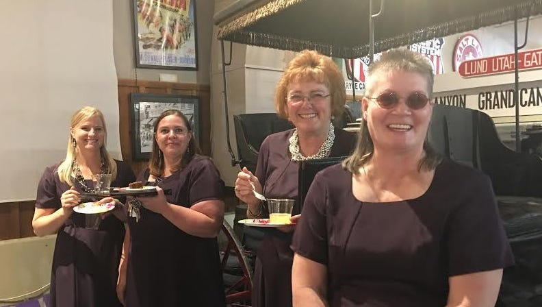 Iron County women's choir, In Jubilo, helps celebrate ten years of CCAC mini-grants.