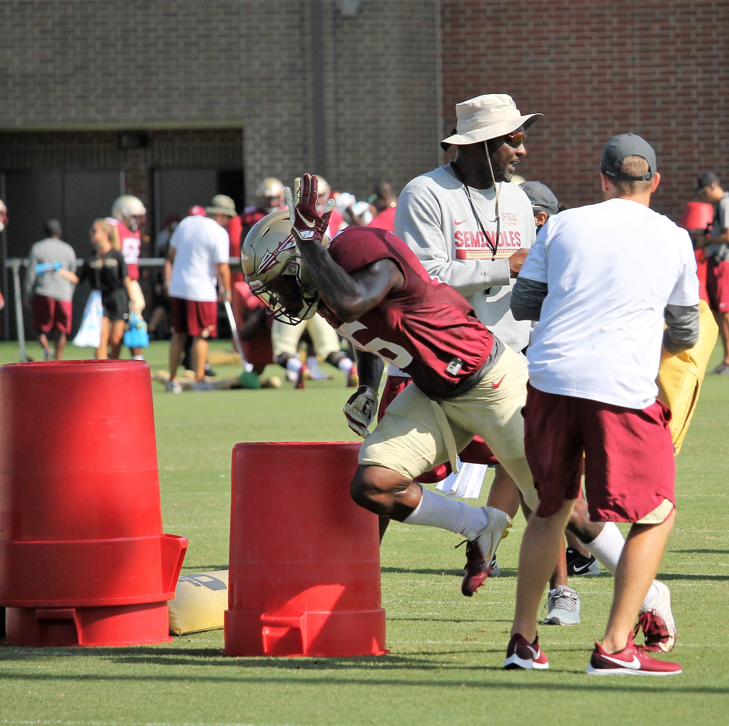 Florida State linebackers combating depth issues with versatility