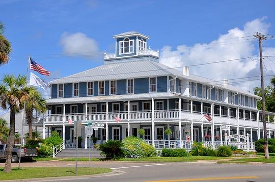 The Gibson Inn built in 1906  is an Apalachicola City landmark.