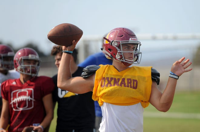 Vincent Walea completed 10 of 14 passes for 196 yards and four touchowns and also added a TD run for Oxnard in its season opener.