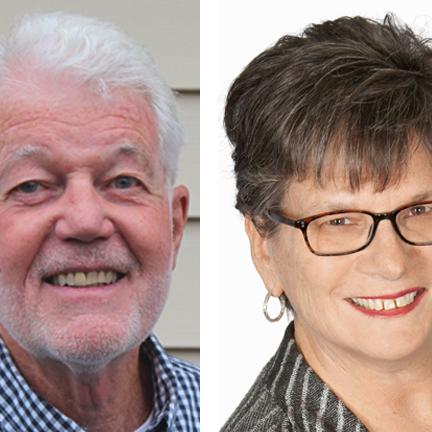 Richard Byrne and Patricia Coluzzi