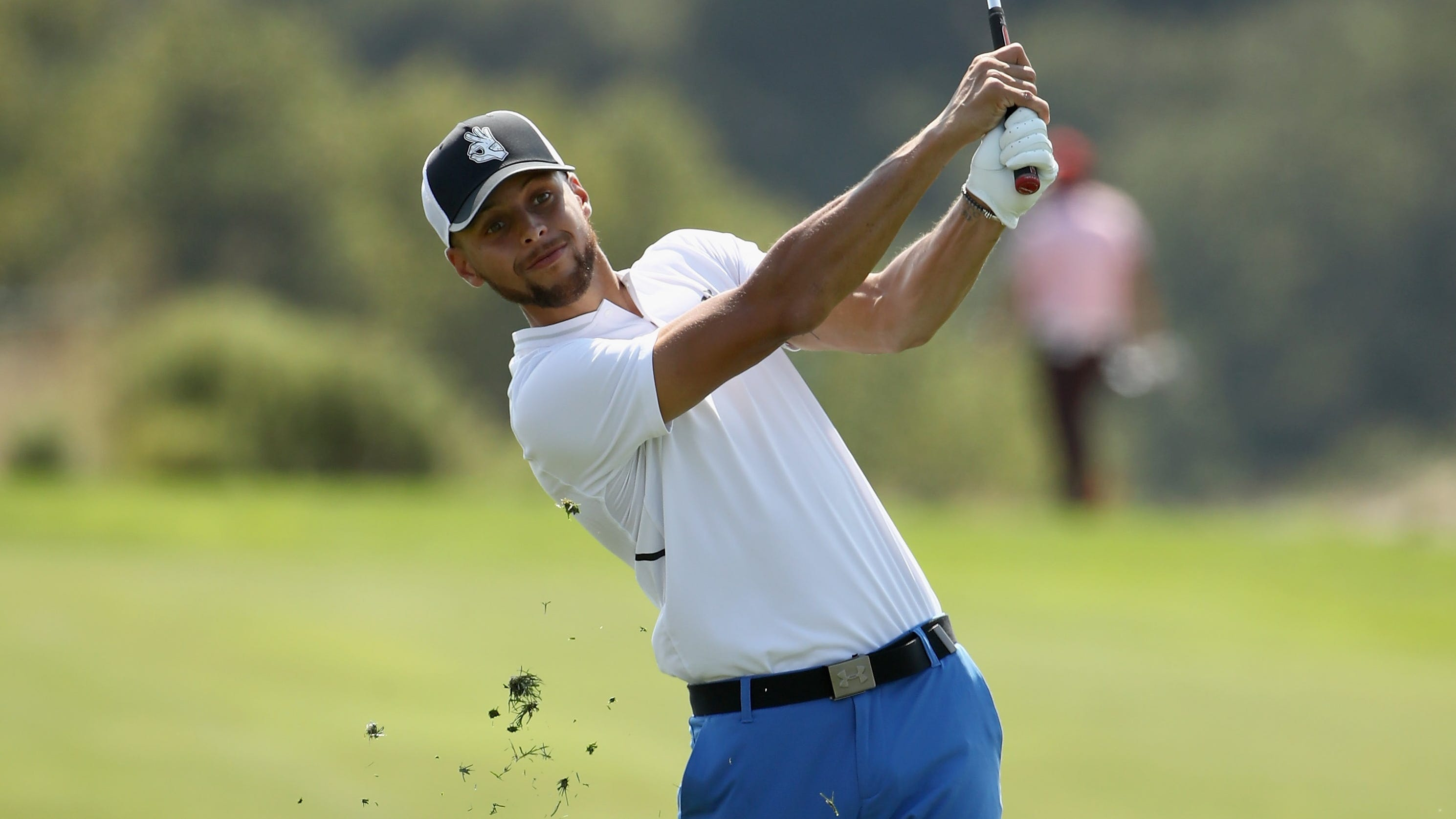 Steph Curry ends the last event on the Web.com Tour