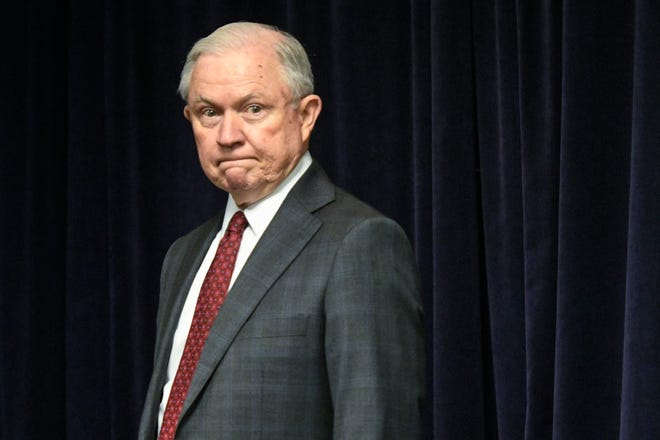 """""""Idemand the highest standards, and where they are not met, I take action,"""" Attorney General Jeff Sessions said Thursday."""