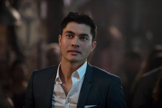 Henry Golding already looks like a superhero. Just saying.