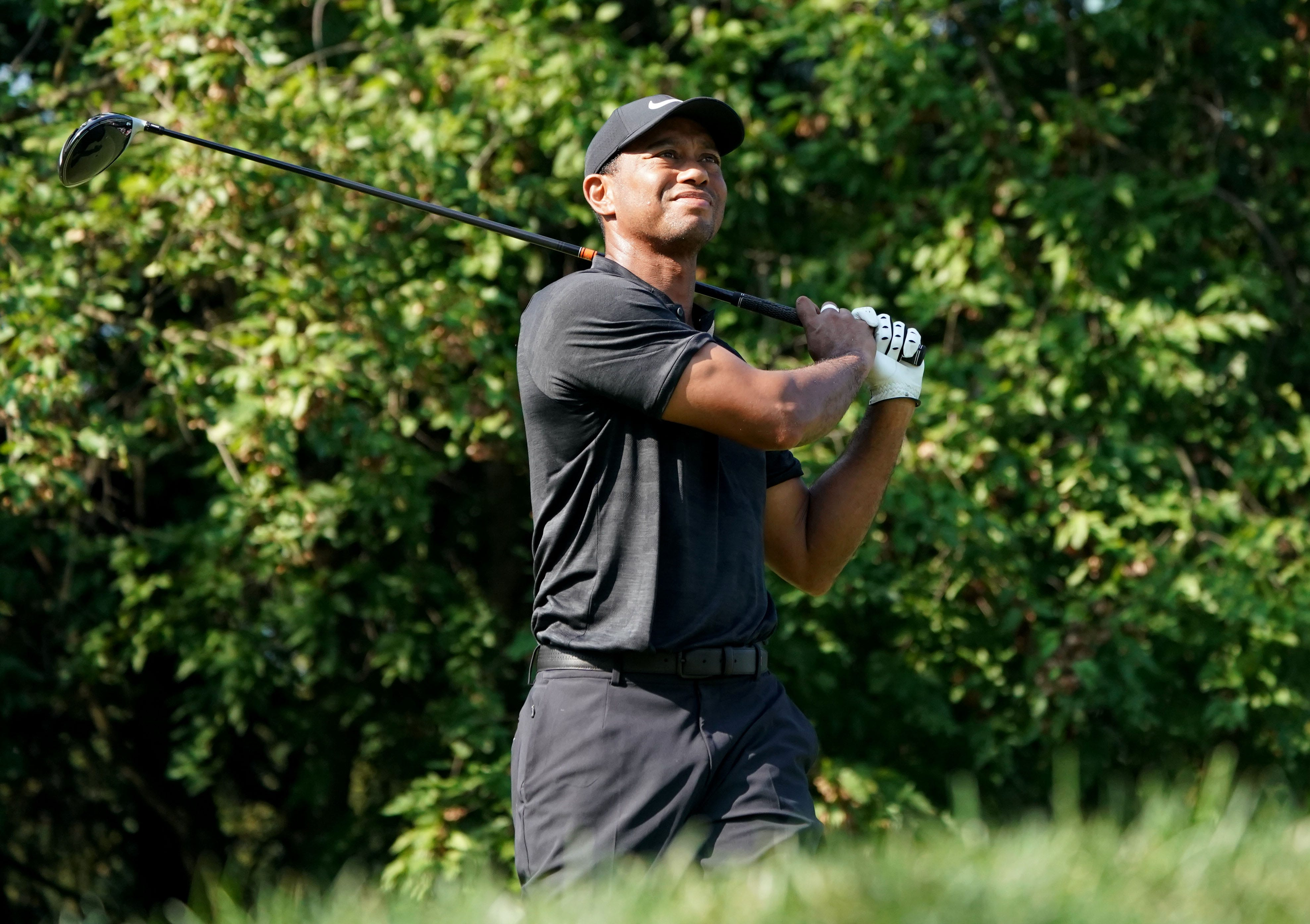 pga championship  tiger woods needs birdies  tony finau
