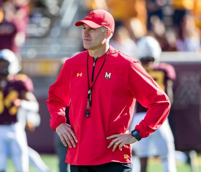 Maryland coach DJ Durkin was fired on Wednesday.