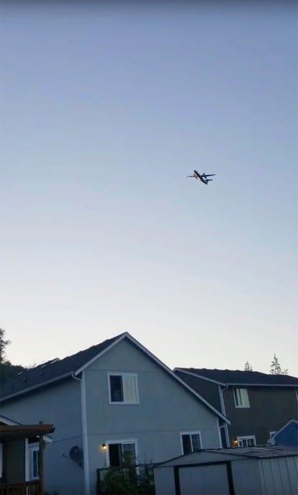 Ap Stolen Plane A Usa Wa