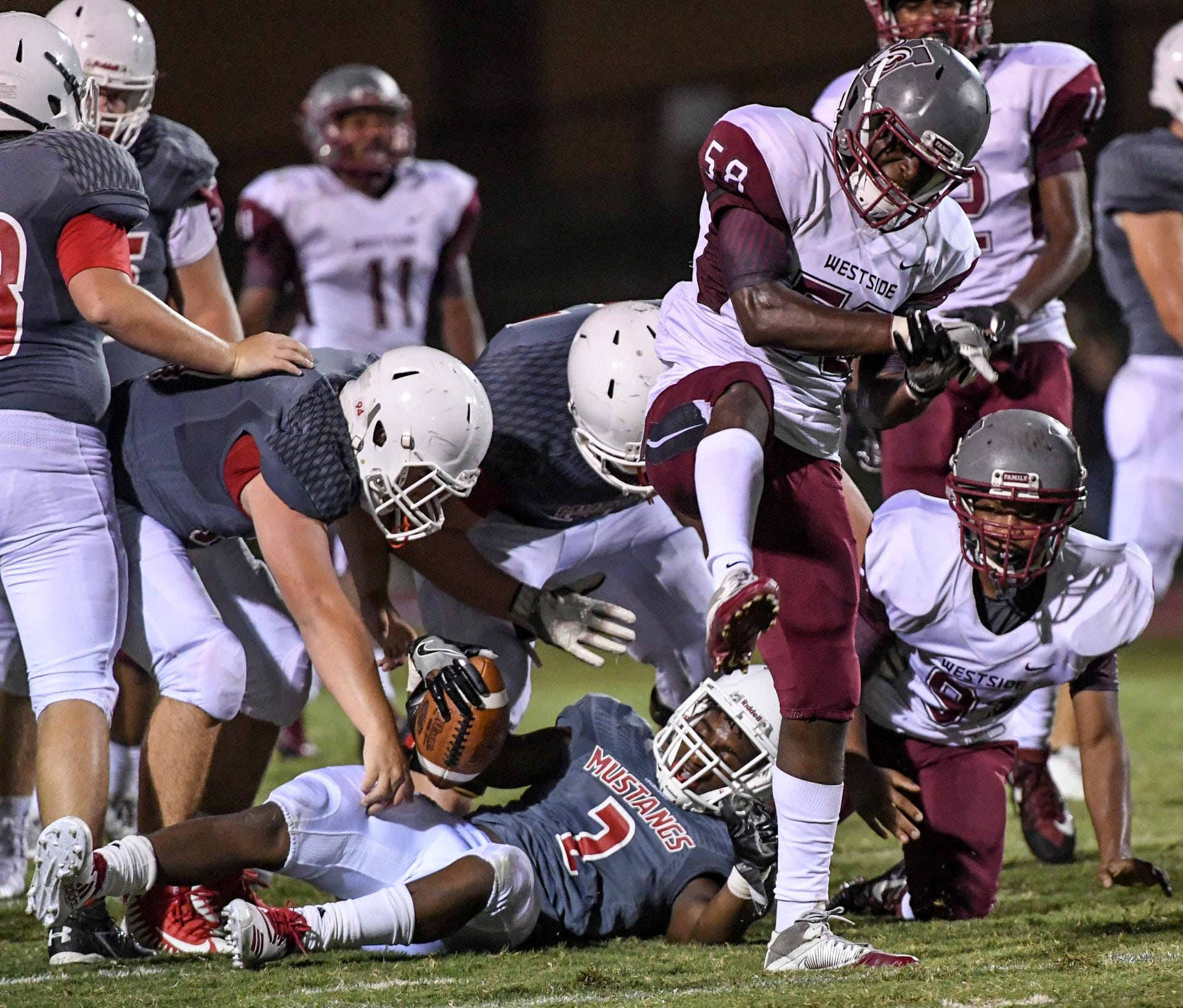 Anderson County Fca Football Jamboree Showcases Talent From Eight Teams