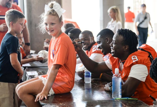 Clemson University Football Fan Day