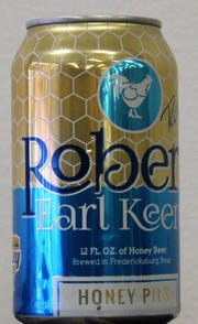 One of three Robert Earl Keen beers is a honey pils.