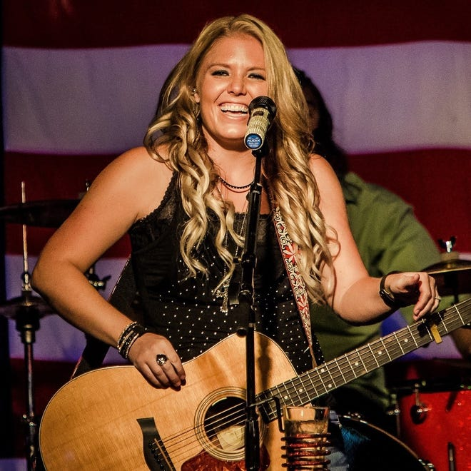 Jessie Leigh overcame stage fright by singing weekly at her church.