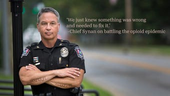 Newtown Police Chief Tom Synan watched an entire family die from the opioid epidemic. This battle is personal.
