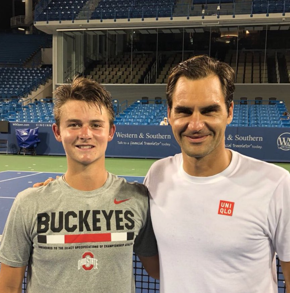 Daugherty: Roger Federer, at Western & Southern Open, is most well-adjusted tennis player