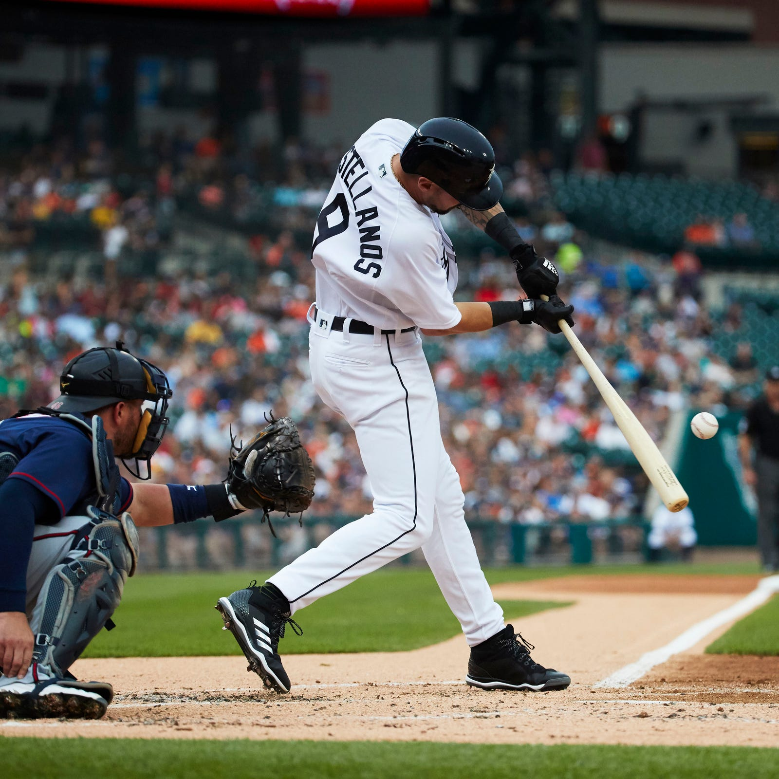Where does Detroit Tigers' Nicholas Castellanos fit in: RF, DH, 1B?