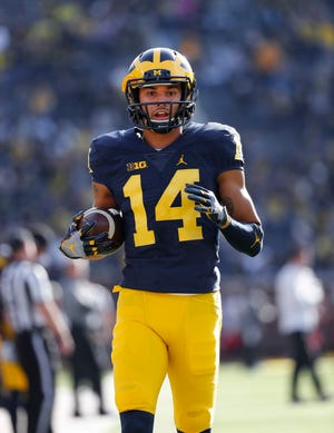 Drake Harris spent the first four years of his college career at Michigan.