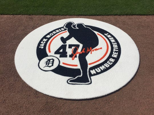 Special on-deck circle for Jack Morris' number retirement ceremony on Sunday at Comerica Park