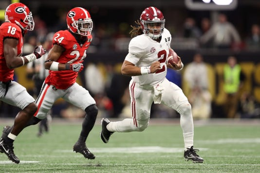 Cfp National Championship Presented By At T Alabama V Georgia