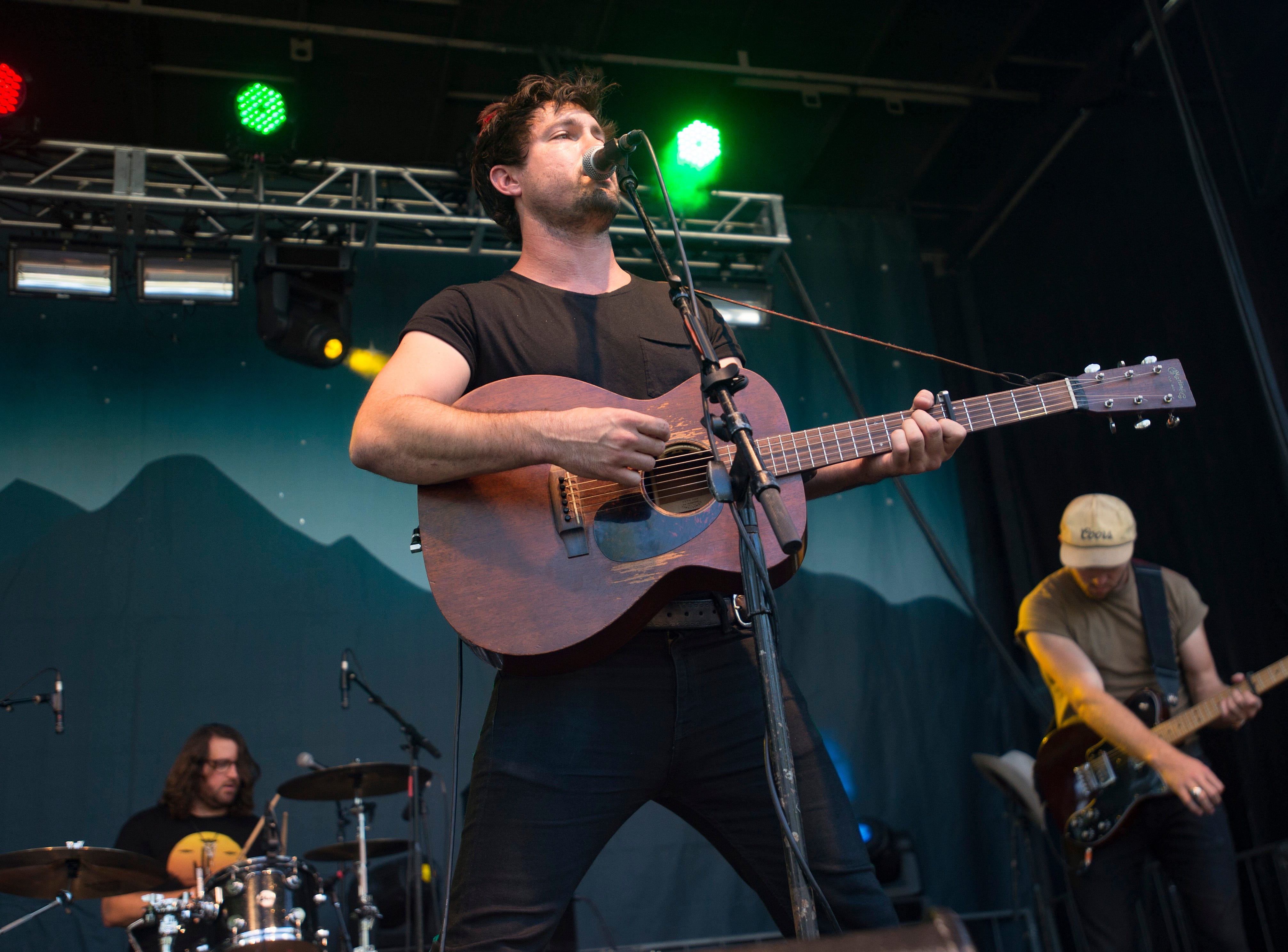 Jared and the Mill performs on the Library Park Stage during Bohemian Nights at NewWestFest in Old Town on Saturday, August 11, 2018.