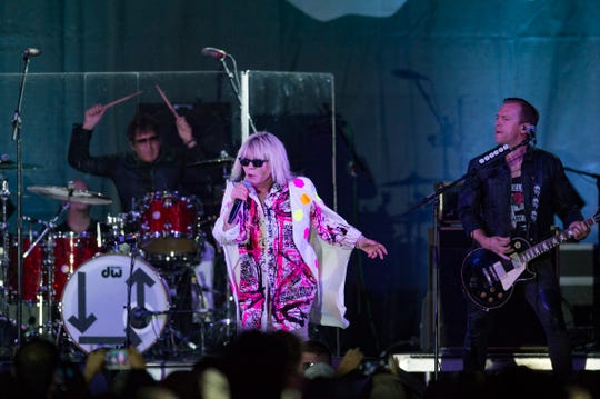Blondie performs in this August 2018 file photo.