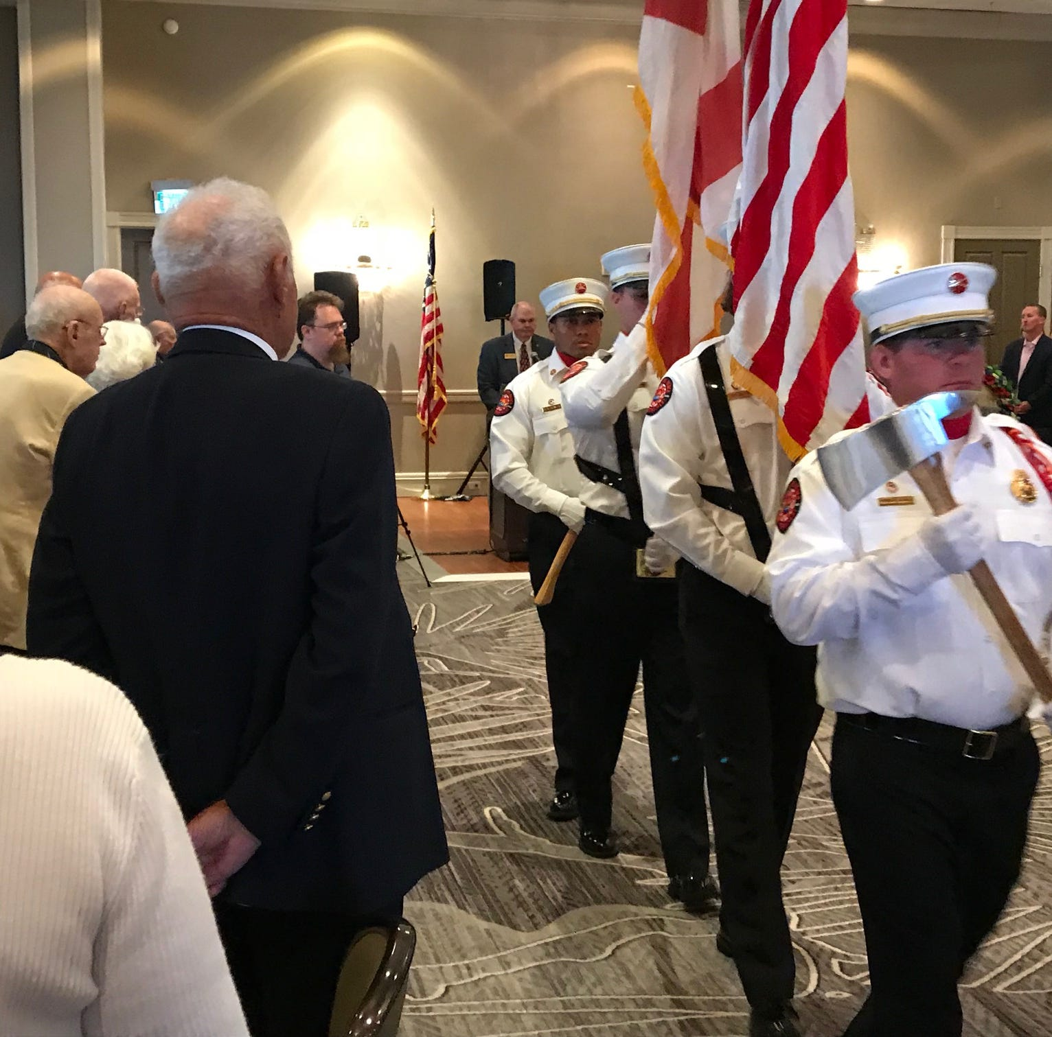 Eighth Spirit of '45 celebration draws more than 100 World War II veterans to Marriott resort
