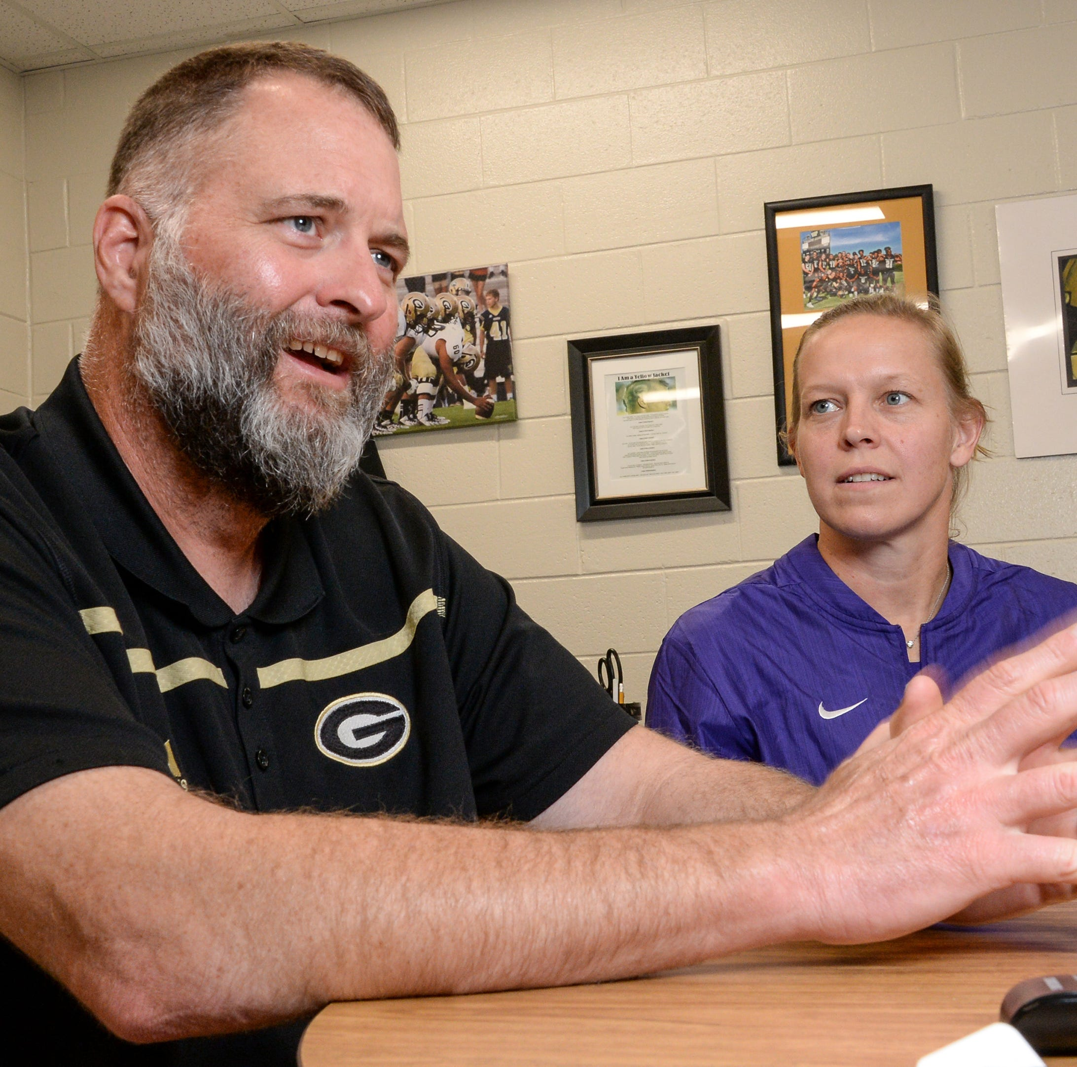 Greer football coach receives kidney transplant with wife as donor