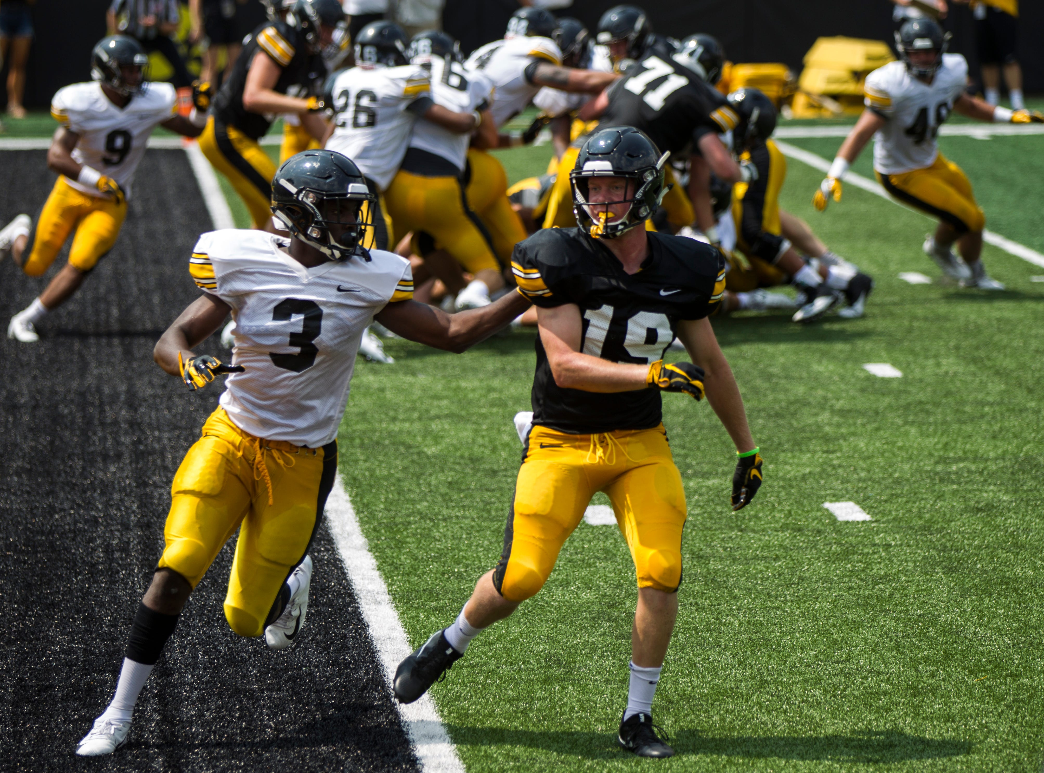 Iowa football: Defensive back Trey Creamer announces he'll transfer
