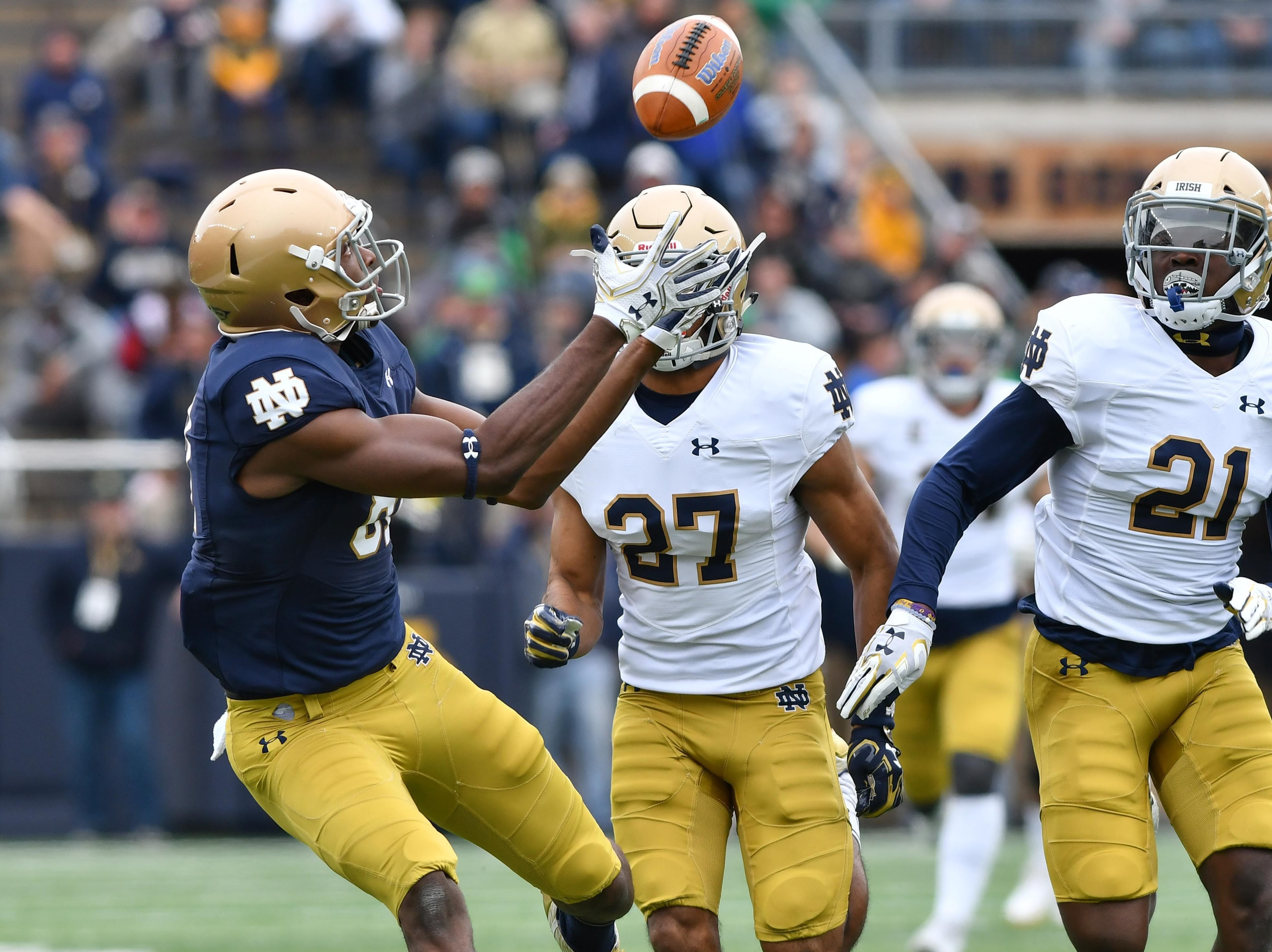 How competition between WR Miles Boykin, CB Julian Love will benefit Notre Dame