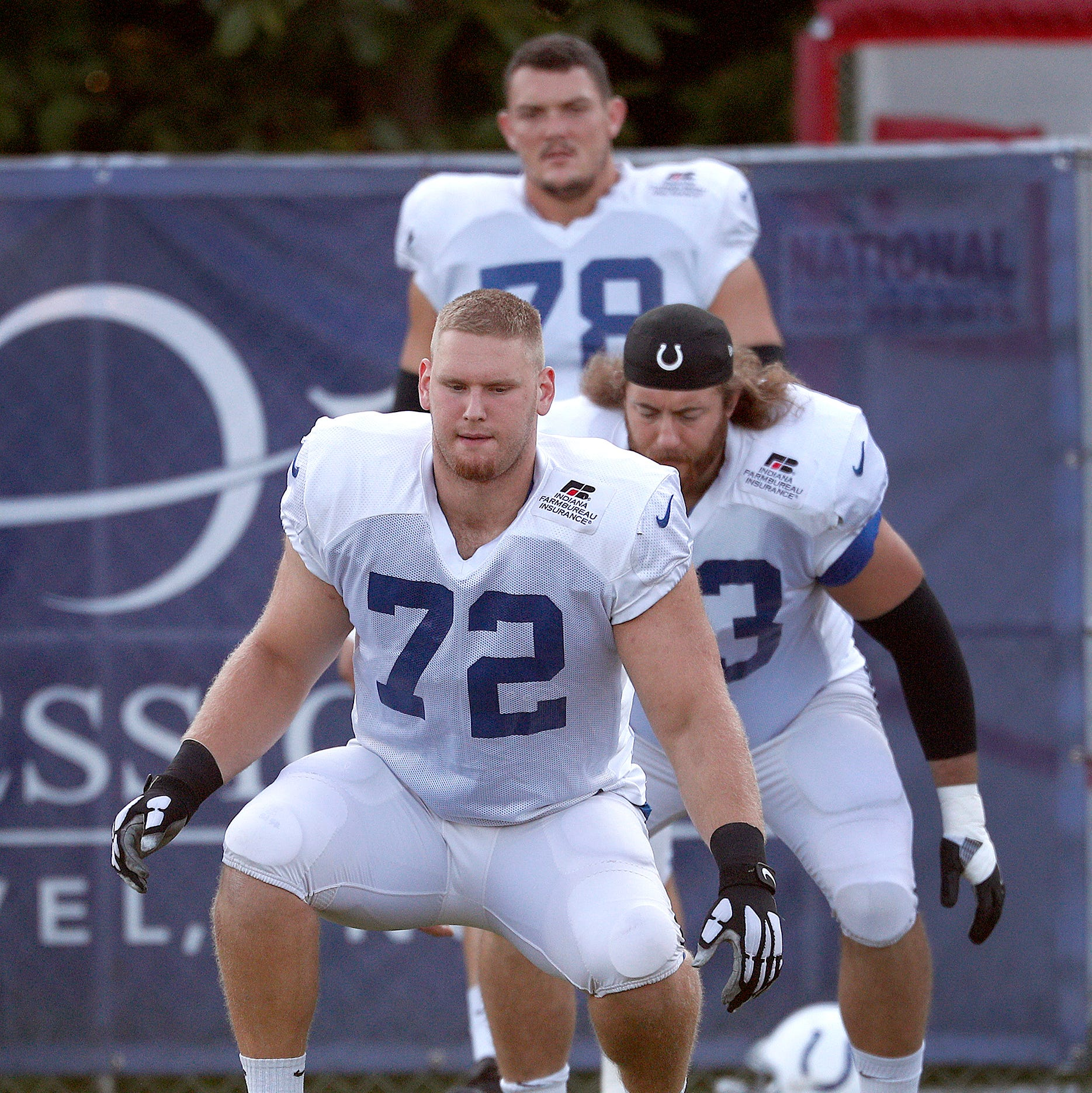 Braden Smith and Clayton Geathers get long looks