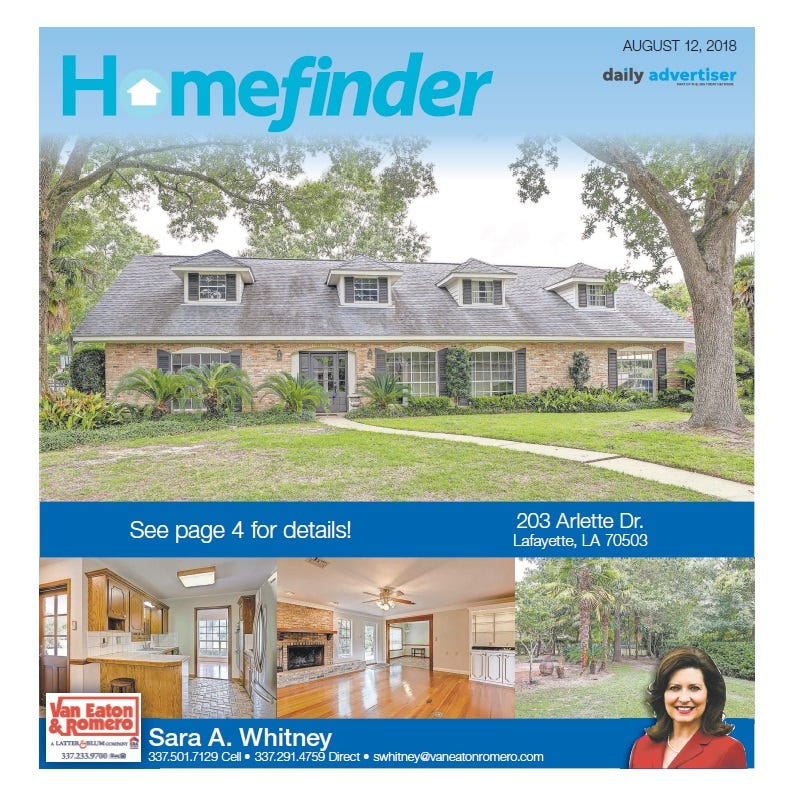 Homefinder: Aug. 12, 2018