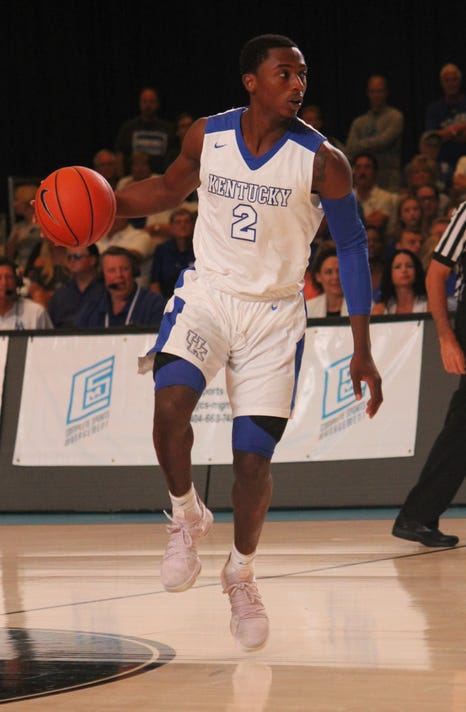 Ashton Hagans Team Toronto Bahamas exhibition