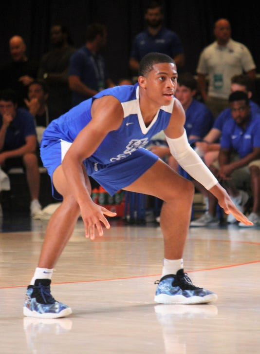 Keldon Johnson defense Bahamas