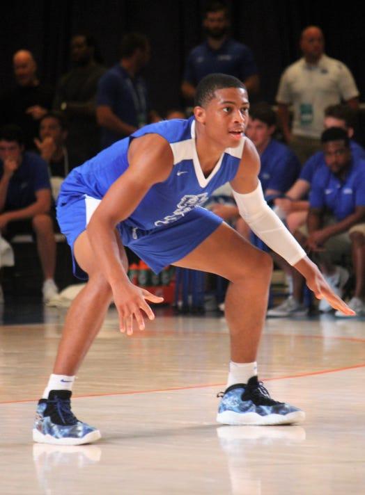 Keldon Johnson defense Bahamas