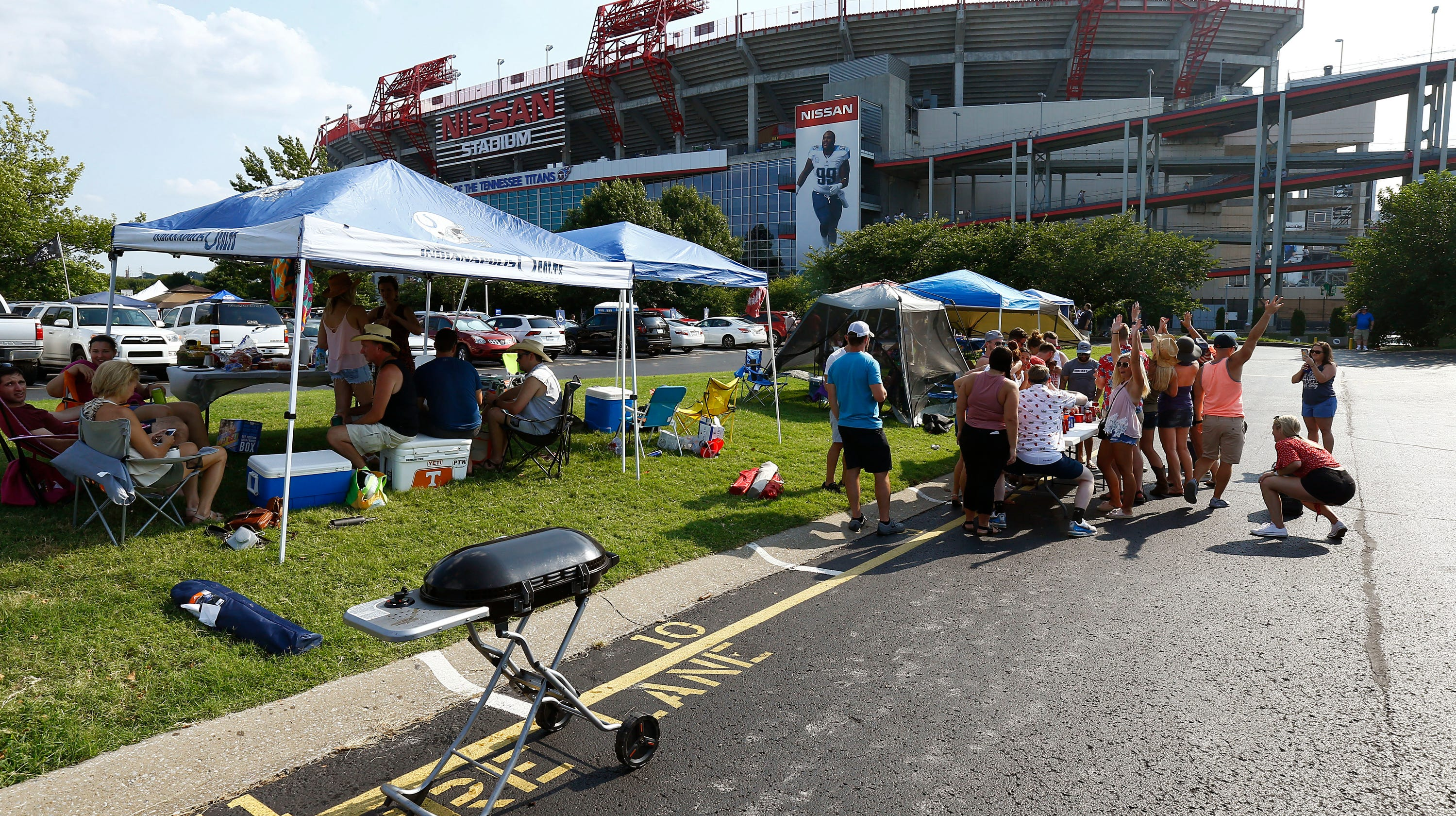 Nissan Stadium, home of the Tennessee Titans and Nashville SC, transitioning to cashless payment