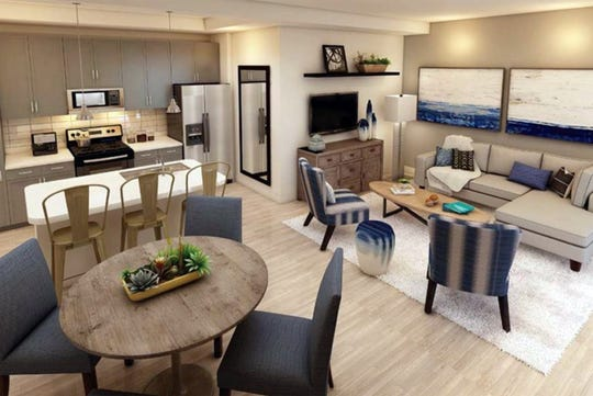 Furnished models are open at Inspira, a new apartment community on the corner of Rattlesnake Hammock Road and Grand Lely Drive in East Naples.