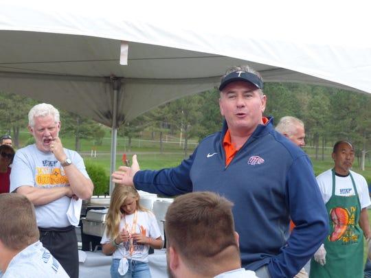 UTEP athletic director Jim Senter