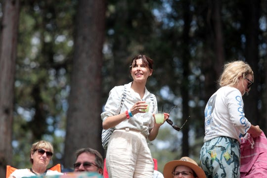 Spectators at the Main Stage at the 25th Jazz in the Pines in Idyllwild on Saturday, August 11, 2018.