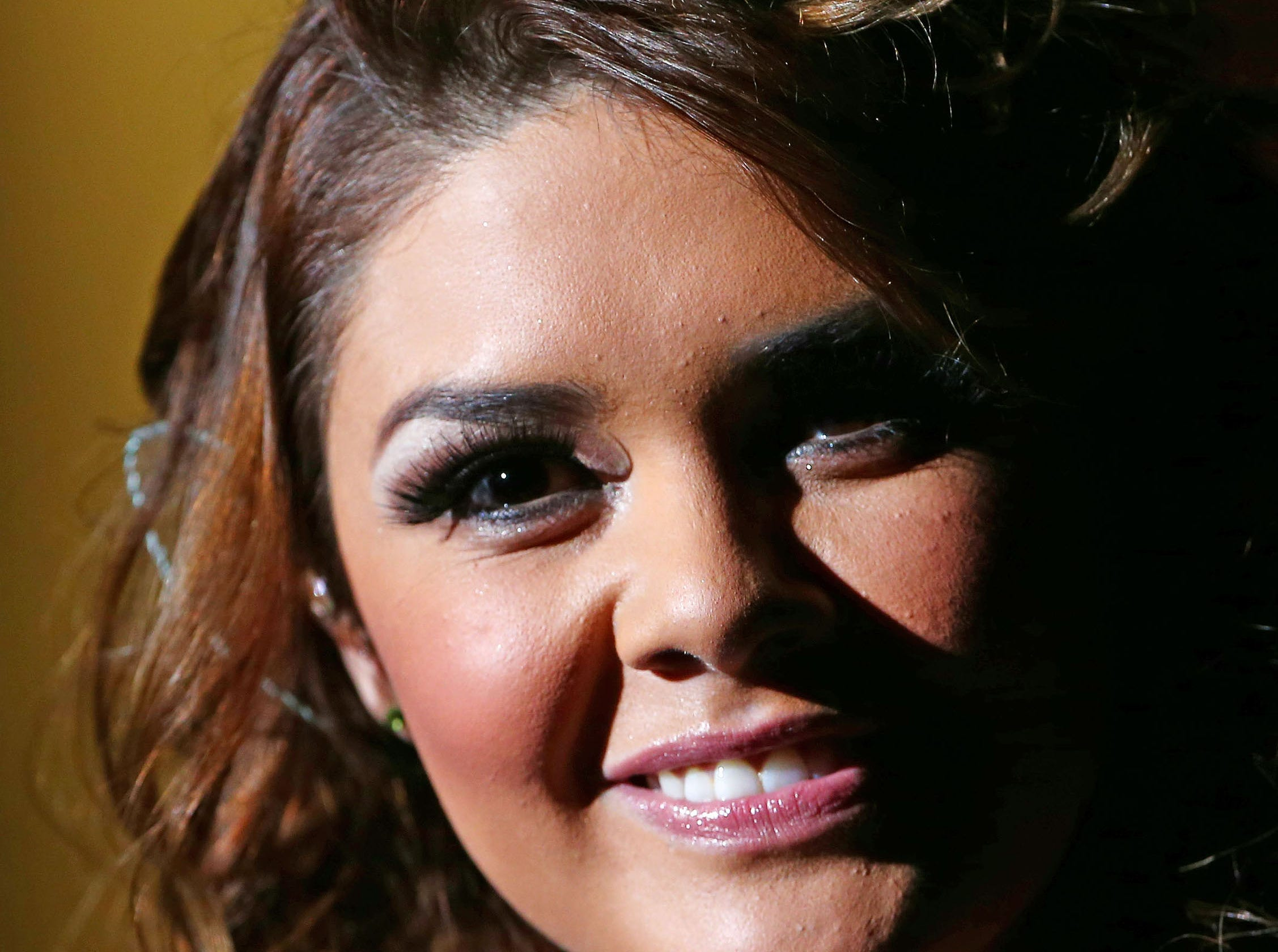 Latin-pop star Yuridia performs  Wednesday, Nov 21, 2012 at Comerica Theatre in Phoenix.