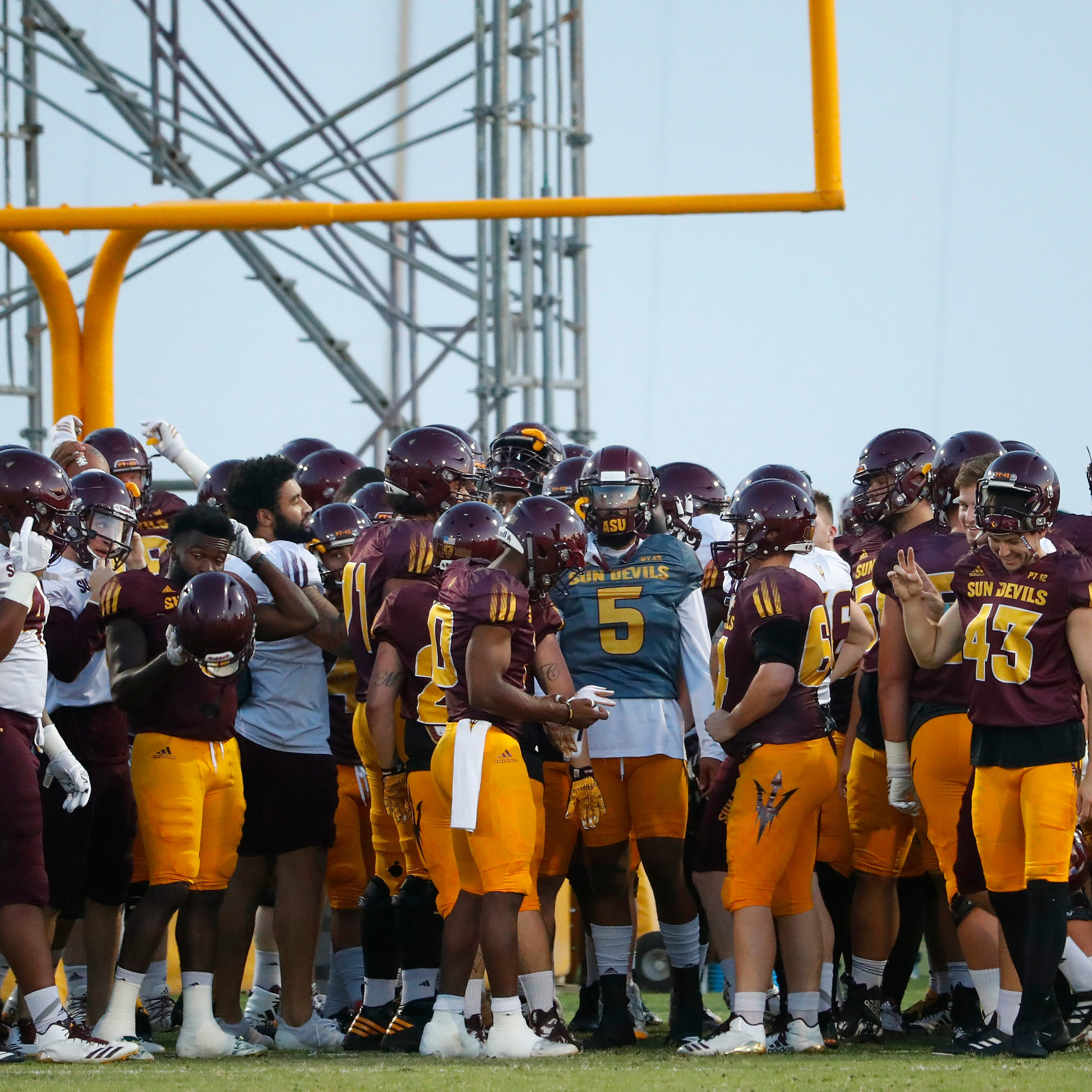 ASU football practice report Saturday: Herm Edwards says a dozen newcomers could play