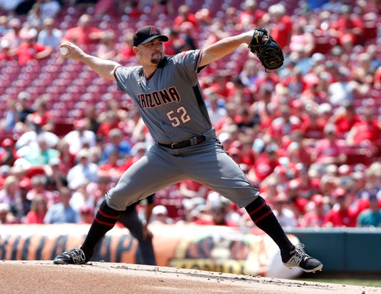 Mlb Arizona Diamondbacks At Cincinnati Reds